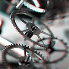Exploding Clockwork #3 (3D) by Daniel Owens