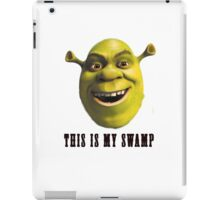 This is my swamp iPad Case/Skin