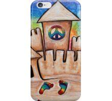 Hippie Sand Castle iPhone Case/Skin
