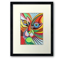 Tiger Abstract  Framed Print