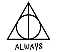 """Harry Potter and the Deathly Hallows """"Always"""" Print by ThoseFandomss"""