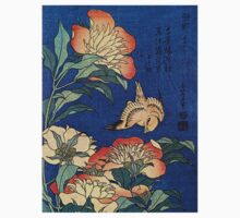 'Flowers' by Katsushika Hokusai (Reproduction) Kids Clothes