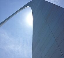 The Amazing St. Louis Arch by heartprint