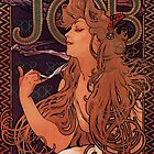 'Job' by Alphonse Mucha (Reproduction) by Roz Barron Abellera