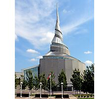 Amazing Architecture - Temple of Community of Christ Photographic Print