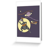 Science, science, science! Greeting Card