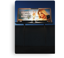 GTA V Canvas Print