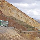 Buses on the Denali Park Road by Graeme  Hyde