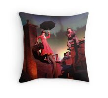 Mary Poppins- The Great Movie Ride Throw Pillow
