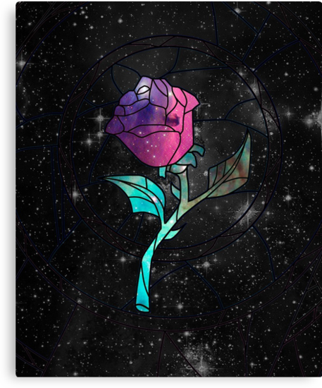 Stained Glass Rose Galaxy by rapplatt