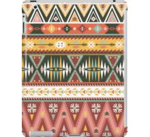 Illustration in native american style with arrows iPad Case/Skin