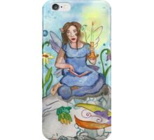 Last Candle/ Fairy and sleeping dragon iPhone Case/Skin