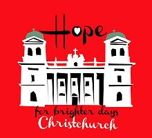 Hope for brighter days, Catholic Cathedral by Ira Mitchell-Kirk