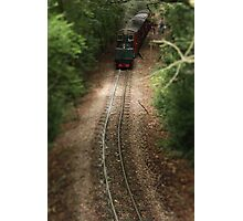 Little steam train Photographic Print