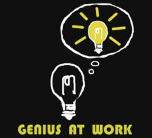 Genius at work by NewSignCreation