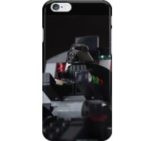 Dart Vader in his throne iPhone Case/Skin