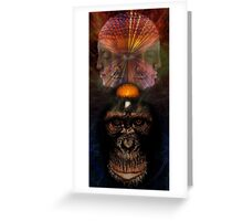 The Higher Primate Greeting Card