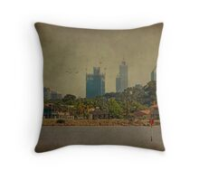 Perth City from Shelley, Western Australia Throw Pillow