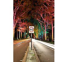Light Speed  Photographic Print