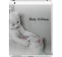 Reiki Kittens iPad Case/Skin