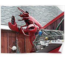 Lobster Topper Poster