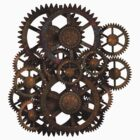 Gears on your Gear T-shirts & Stickers by Steve Crompton