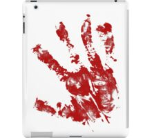 Bloody hand iPad Case/Skin