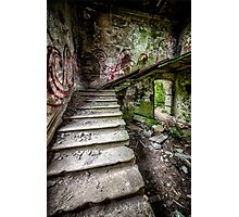 Stairway Graffiti Photographic Print