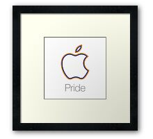 Apple Pride Framed Print