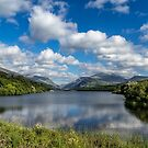 Lake Padarn by Adrian Evans