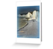 England's Seven Sisters Greeting Card