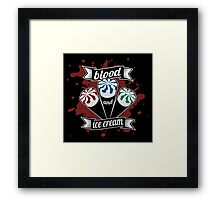 Blood & Ice Cream - Colour Framed Print