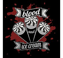 Blood & Ice Cream - Silver Variant Photographic Print