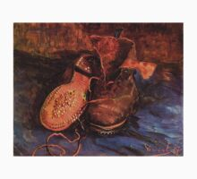'A Pair of Shoes' by Vincent Van Gogh (Reproduction) T-Shirt