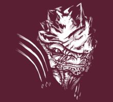 Wrex - Mass Effect - White by Tex Minos