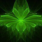 Green Fern by Sandy Keeton