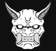 Oni Face by DesignShinobi