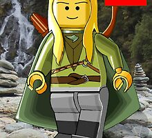 Legolas - Lego Lord Of The Rings Crossover by Catbess