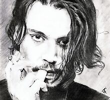 johnny depp ... pencil by danijelg