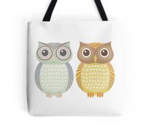 Cool Owl & Friendly Owl Tote Bag