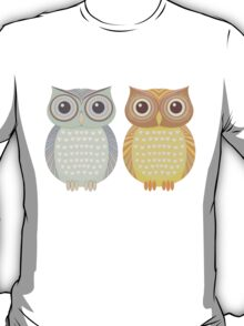 Cool Owl & Friendly Owl T-Shirt