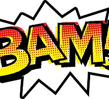 BAM! Comic Onomatopoeia by GTdesigns