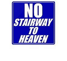 No Stairway to Heaven Photographic Print