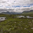 Rannoch Moor Glencoe Scotland by M.S. Photography & Art