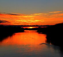 Sunrise on the Assiniboine by Larry Trupp