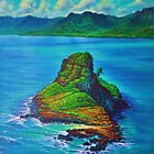 Chinaman's Hat - Oahu by jyruff