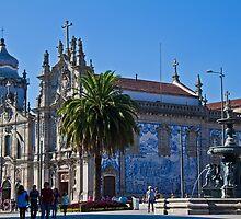 Portugal. Porto. Church do Carmo. by vadim19