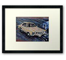 BUICK RIVIERA - CLASSIC Framed Print