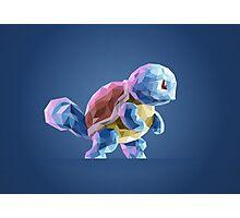 Porymon Squirtle | Pokemon Photographic Print
