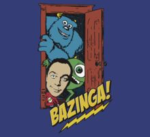 Monsters & Sheldon by margottina